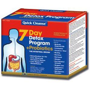 Detox Program Plus Probiotics