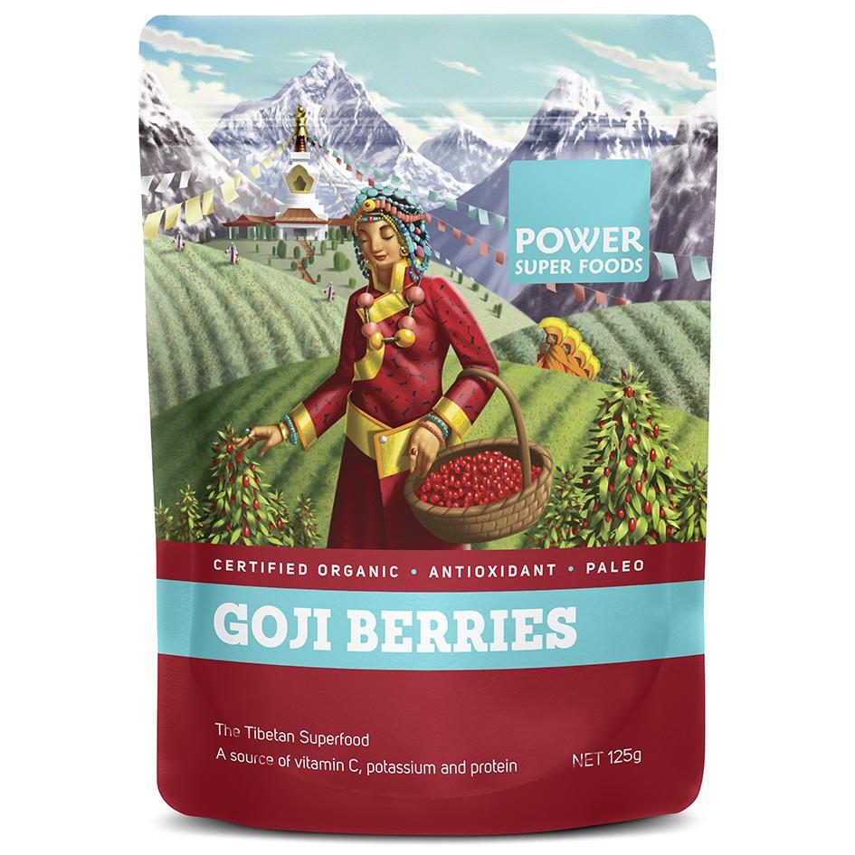 Goji Berries Organic :: The Tibetan Superfood