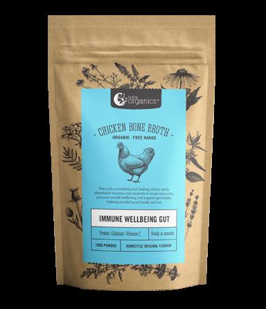 Nutra Organics Chicken Bone Broth Powder - Homestyle Original