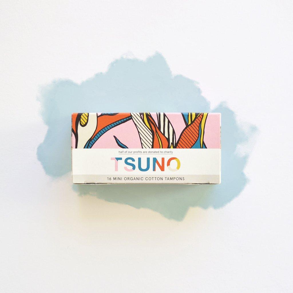 Tsuno Mini Tampons - Certified Organic Cotton