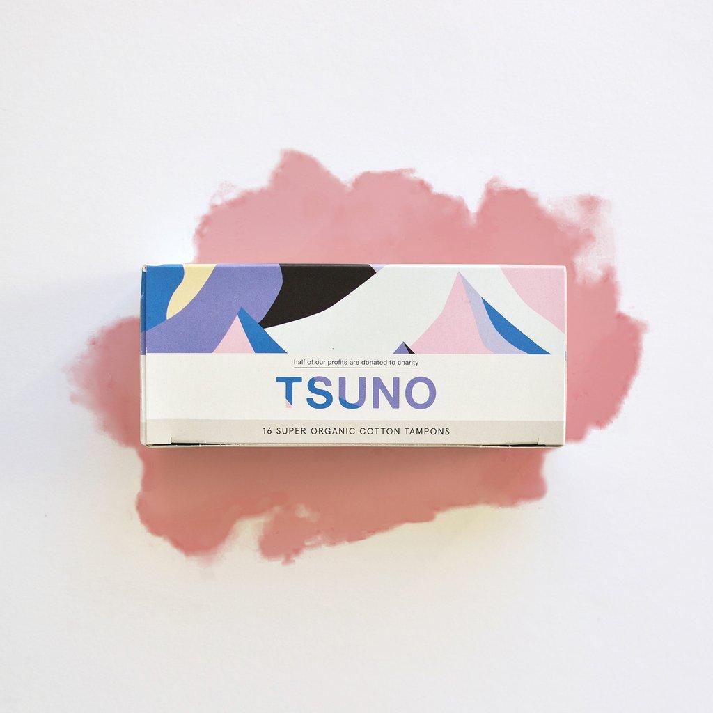 Tsuno Super Tampons - Certified Organic Cotton