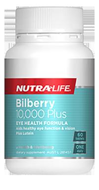Nutralife Bilberry 10,000 Plus
