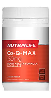 Nutra Life Co-Q-MAX 150mg | CoQ10