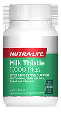 Nutra Life Milk Thistle 17,000 Plus