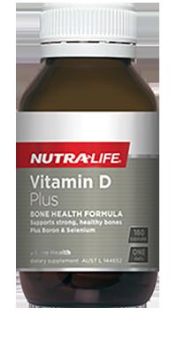 Nutra Life Vitamin D Plus   Vitamin D3