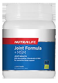 Joint Formula + MSM | Lemon Flavour | Glucosamine Chondroitin MSM