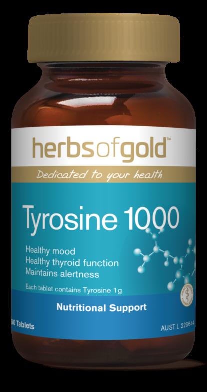 Herbs of Gold Tyrosine 1000