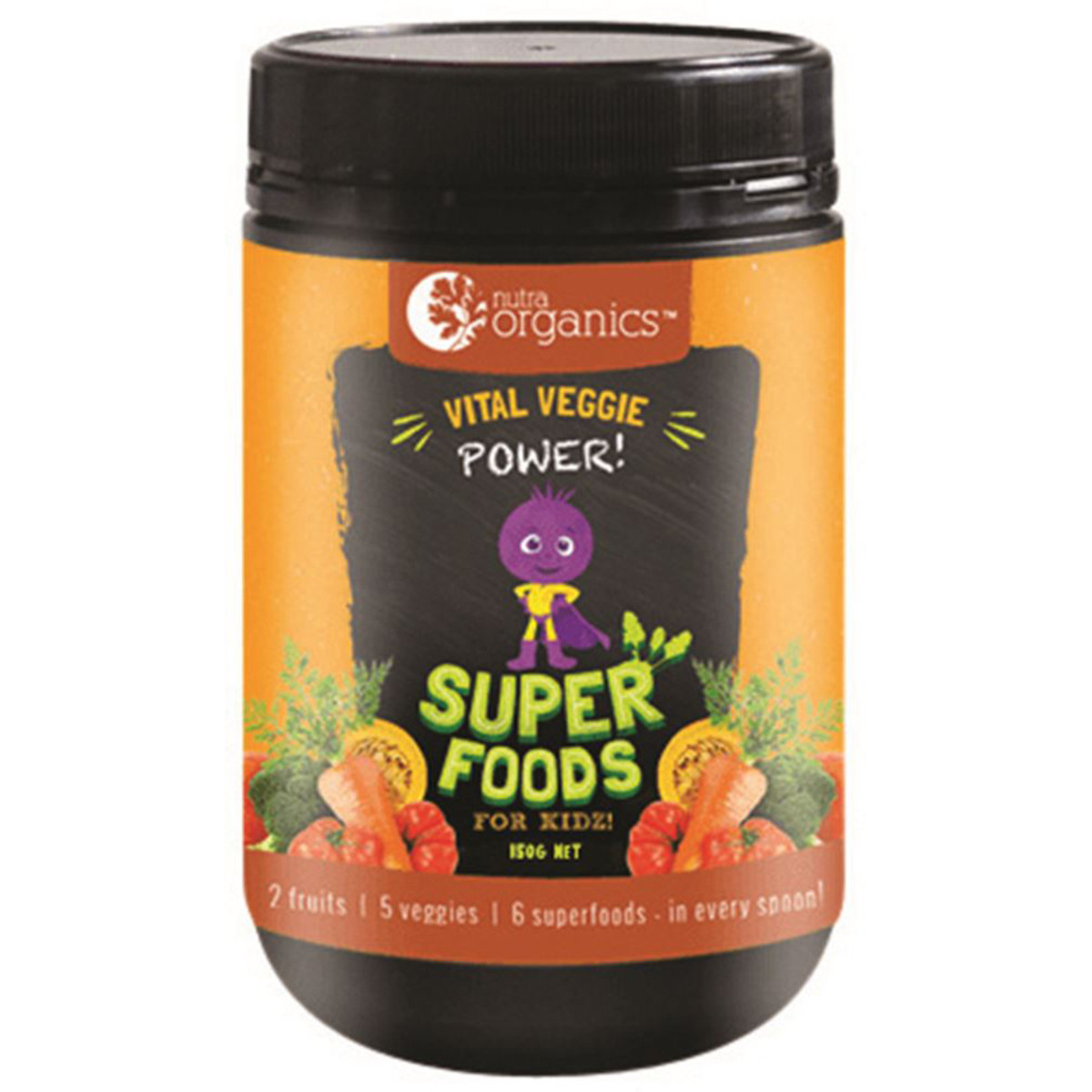 Nutra Organics Vital Veggie Powder
