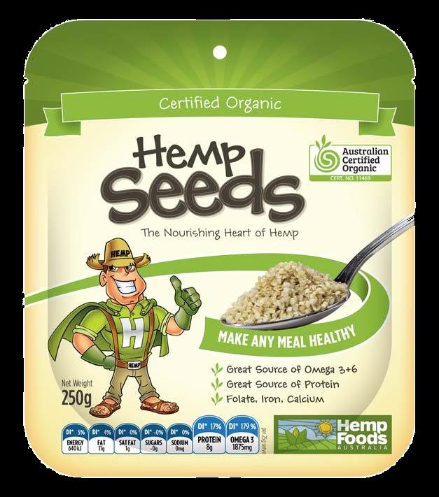 Hemp Seeds | Certified Organic