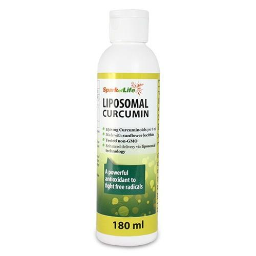 Spark of Life Liposomal Curcumin with Resveratrol