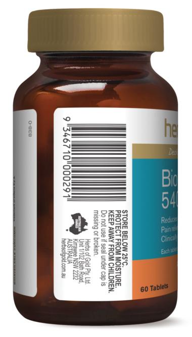Herbs of Gold Bio Curcumin anti inflammatory
