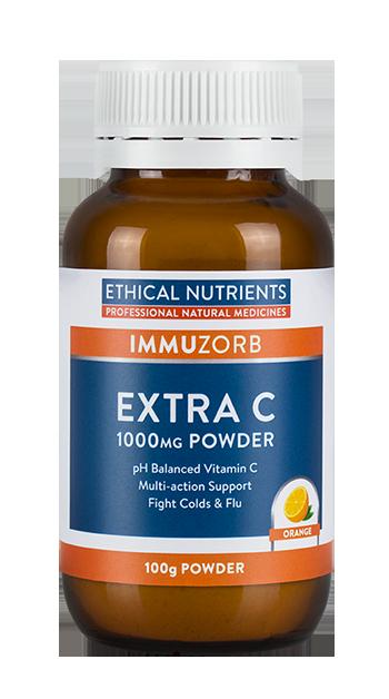 Ethical Nutrients IMMUZORB Extra C 1000mg Powder