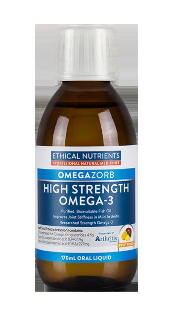 Ethical Nutrients Hi-Strength Fish Oil Liquid