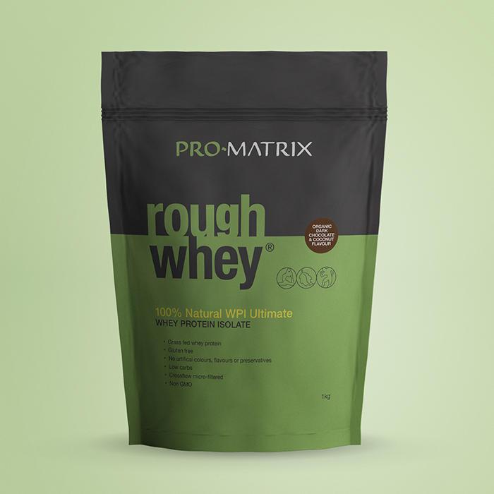 ProMatrix Rough Whey 1kg - WPI Chocolate & Coconut