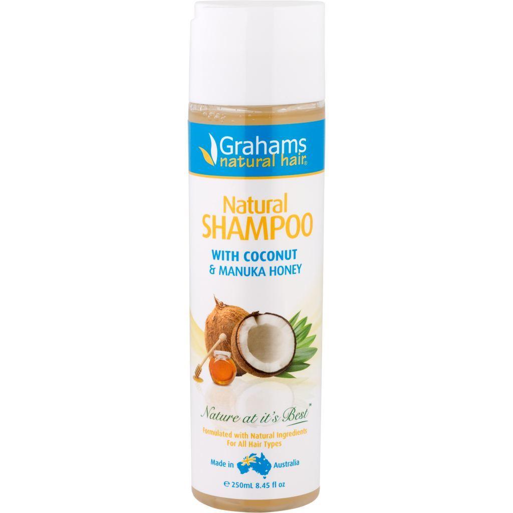 Grahams Natural Shampoo | Coconut & Manuka Honey