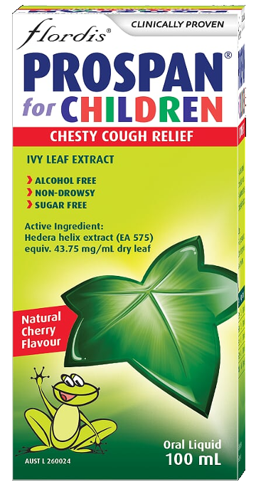 Flordis Prospan for Children   Cough Relief