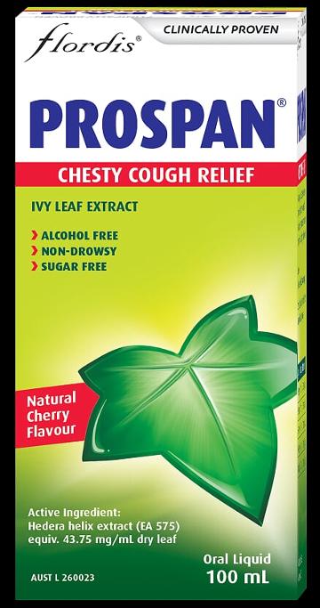 Flordis Prospan Chesty Cough Relief Liquid