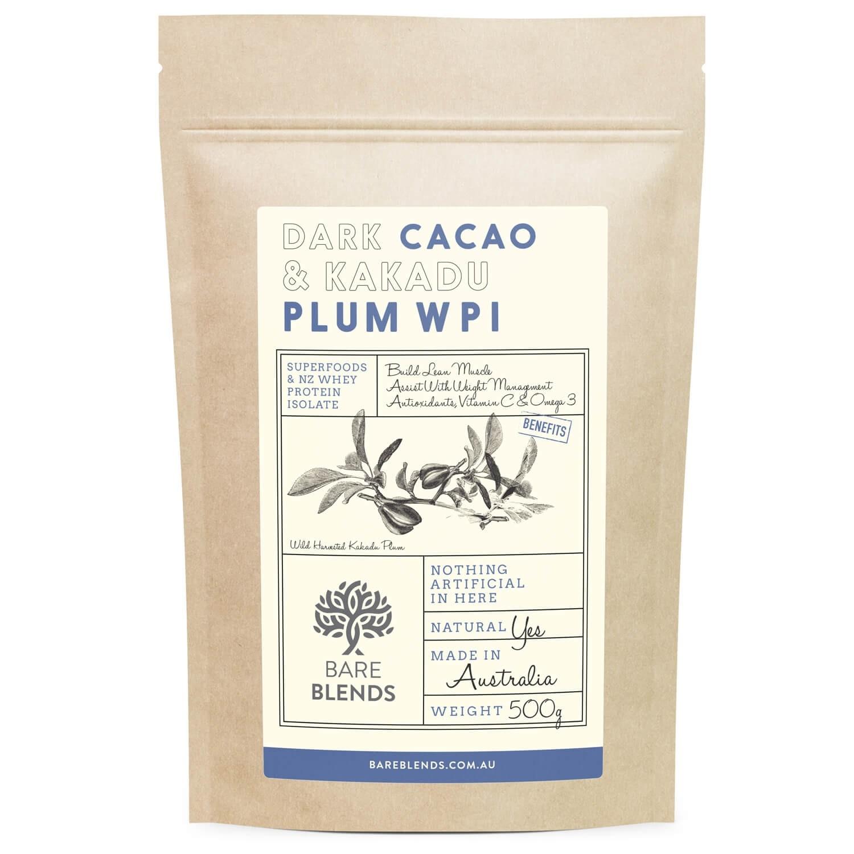 Bare Blends Dark Cacao & Kakadu Plum Native WPI