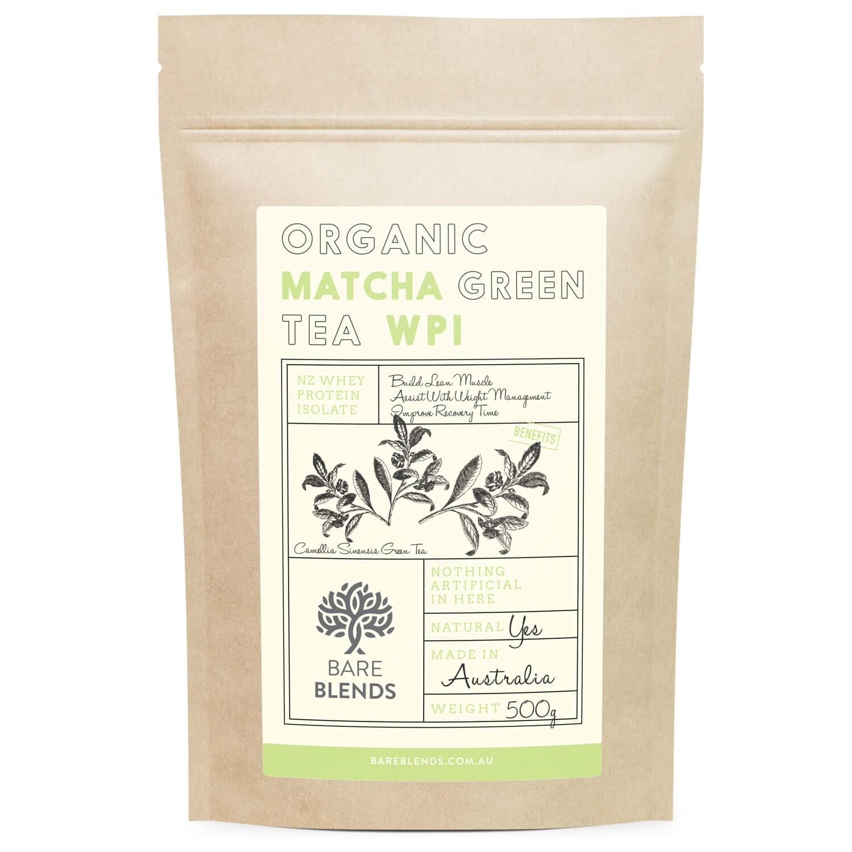 Bare Blends Organic Matcha Green Tea WPI