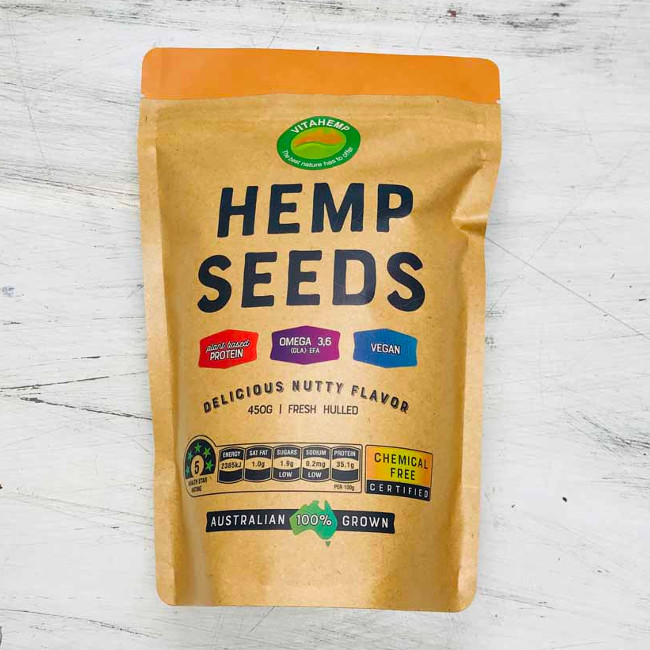 VitaHemp Hemp Seeds   100% Australian Grown
