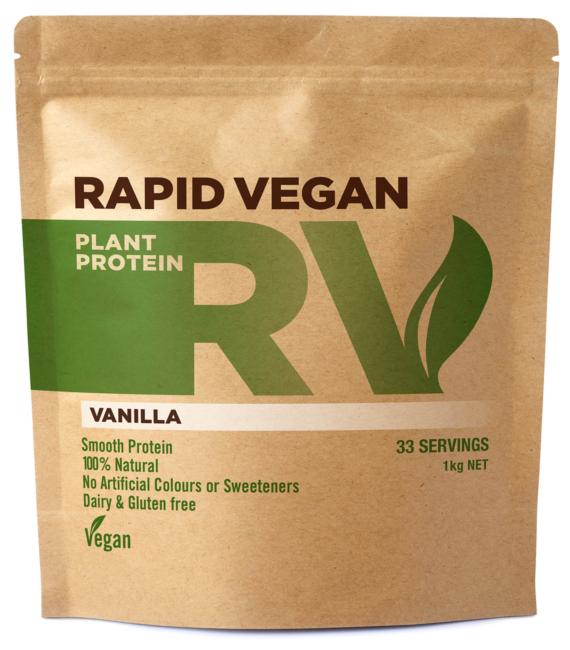 Rapid Vegan Plant Protein | Vanilla