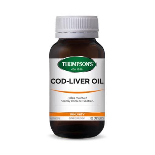 Thompson's Cod Liver Oil