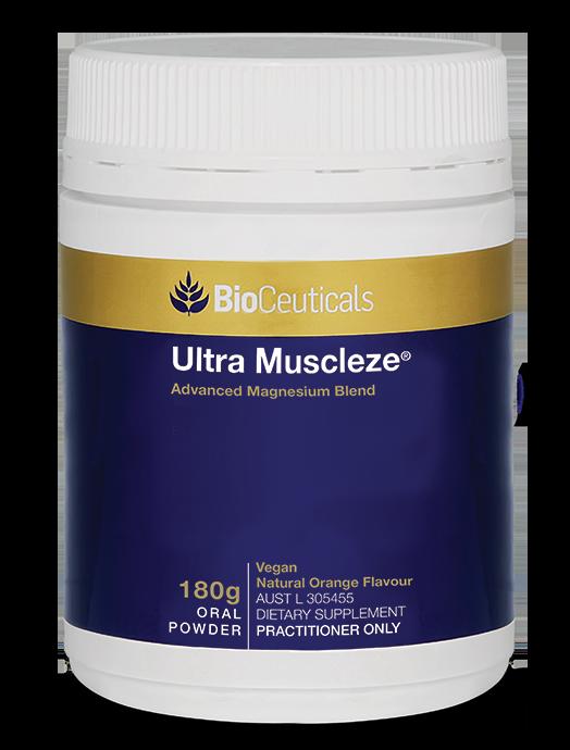 BioCeuticals Ultra Muscleze Magnesium Powder