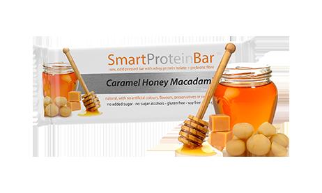 Smart Protein Bar - Caramel Honey Macadamia