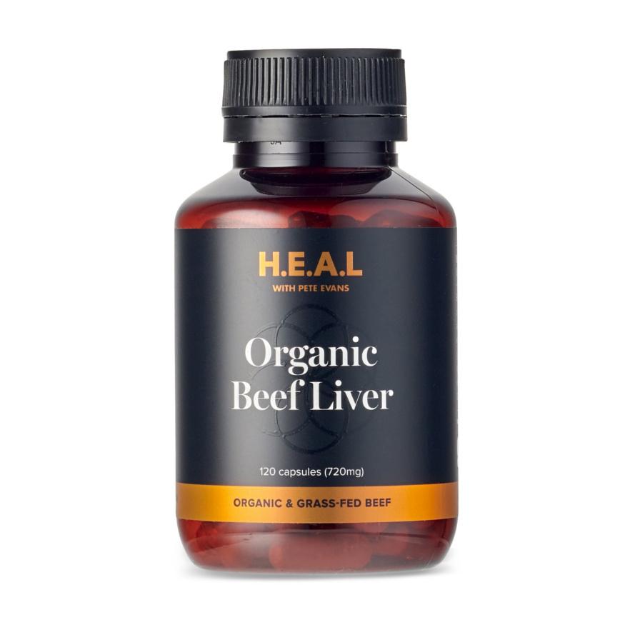 Pete Evans Grass Fed Beef Liver Capsules