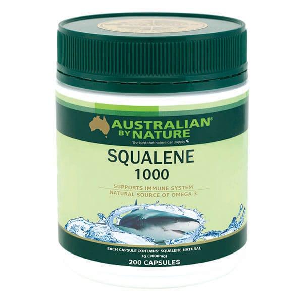 Australian By Nature Squalene Capsules