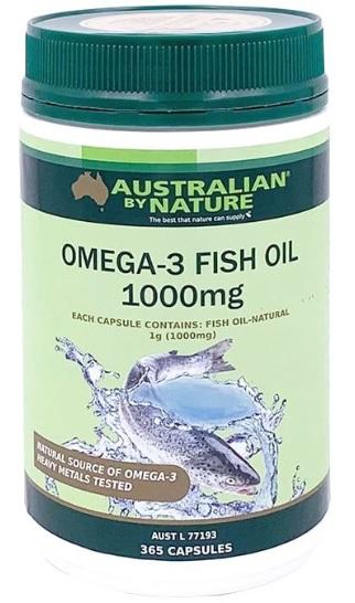 Australian by Nature Fish Oil 1000 (Omega 3)