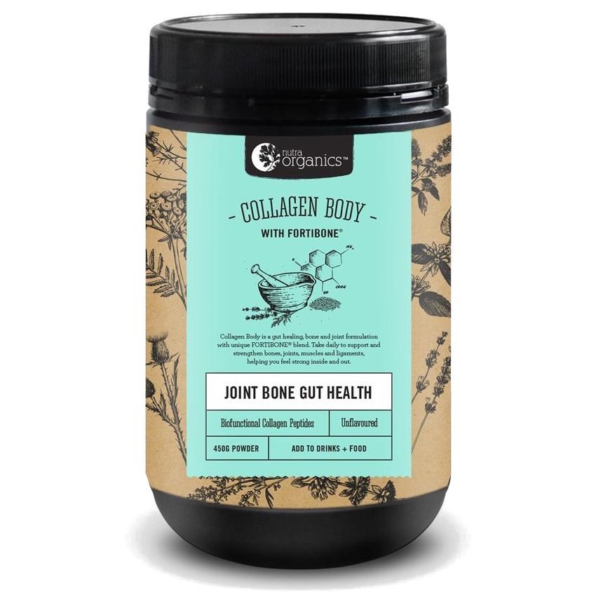Nutra Organics Collagen Body - Joint, Bone, Gut Health