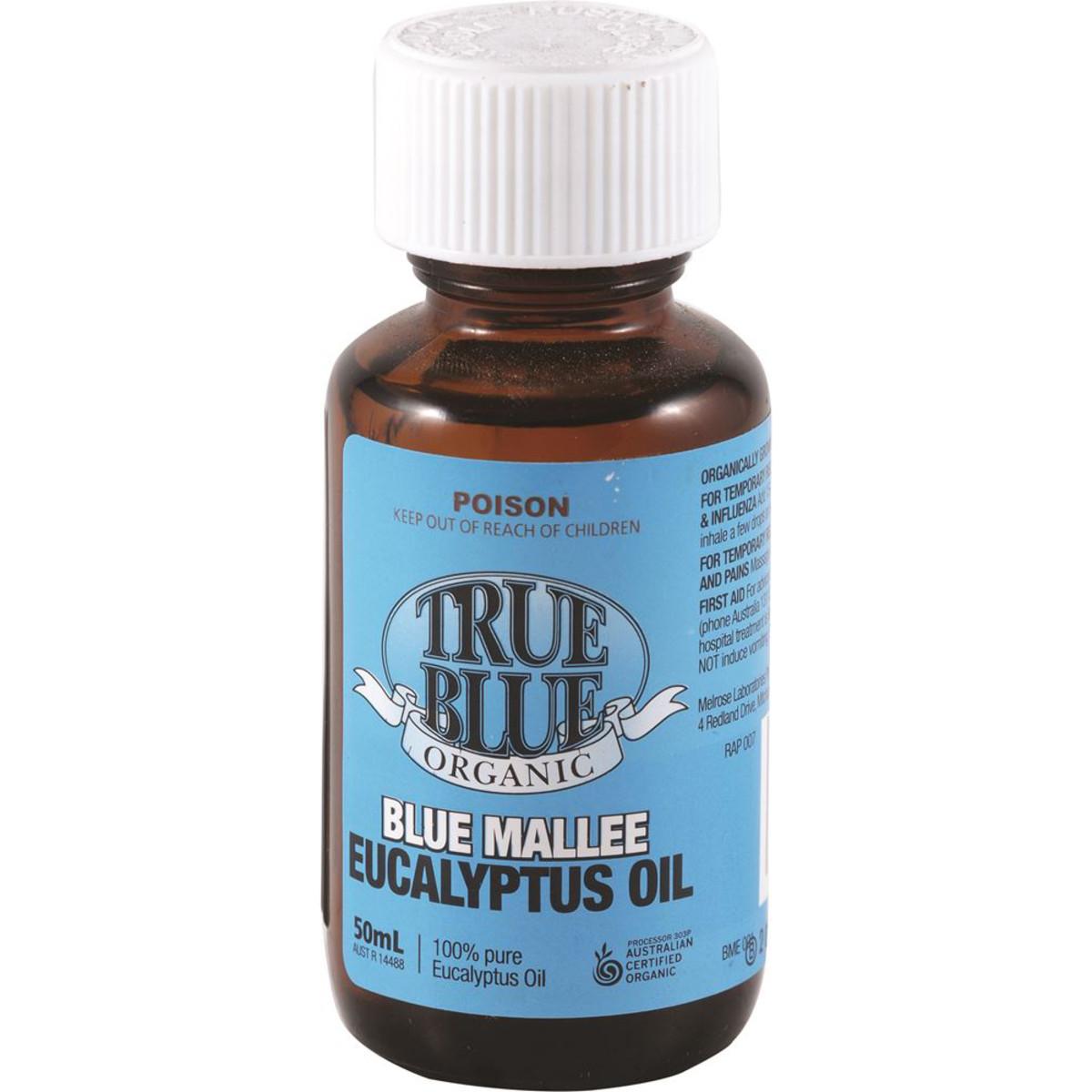 True Blue Organic Blue Mallee Eucalyptus Oil