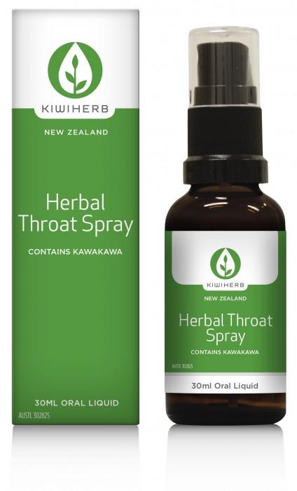 Kiwi Herb Herbal Throat Spray