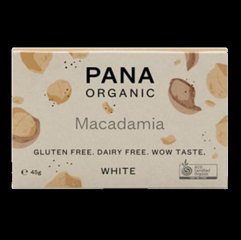 Pana Chocolate   White Macadamia   Organic Dairy Free Chocolate