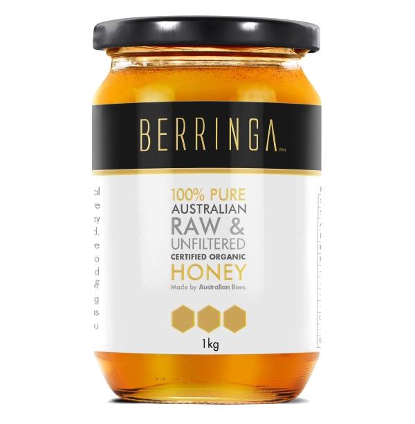 Australian Organic Raw Eucalyptus Honey