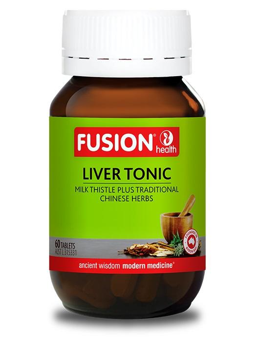 Fusion Liver Tonic - Milk Thistle Formula