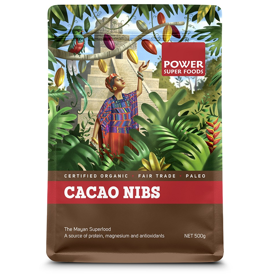 Raw Organic Cacao - NIBS