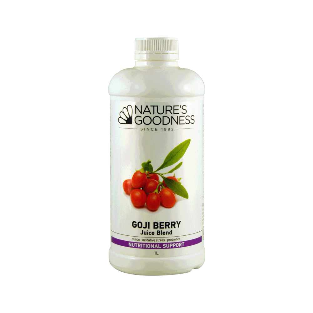 Nature's Goodness Goji Berry Juice Blend 1 Litre