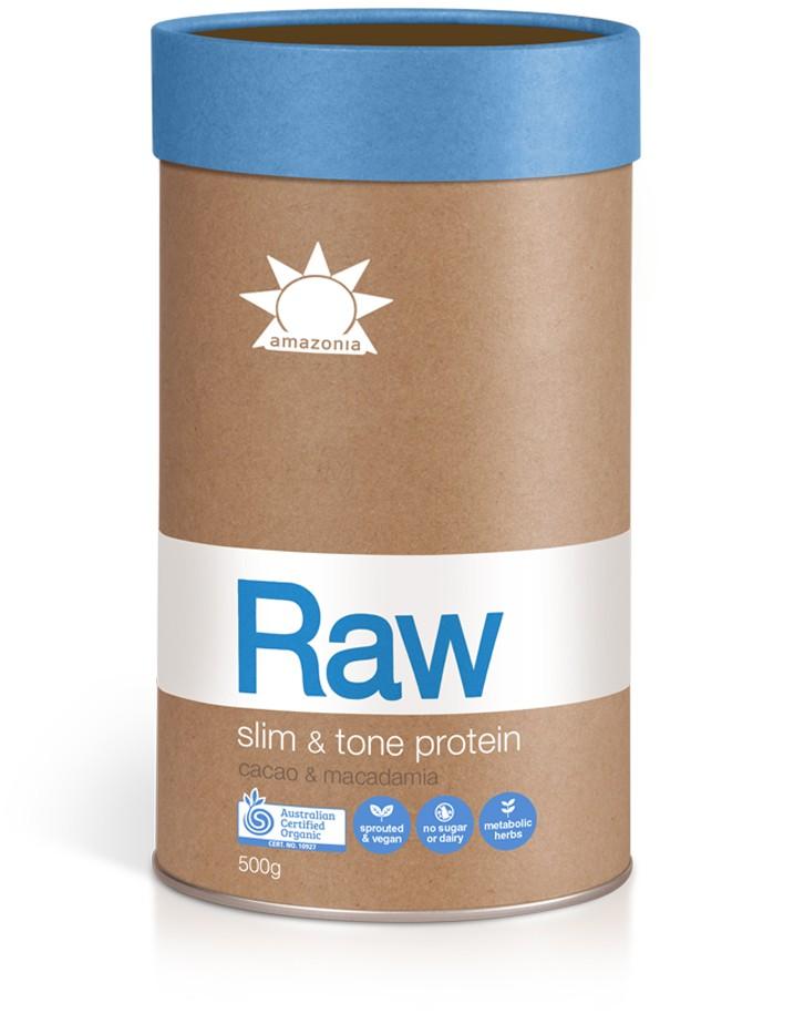 Amazonia Raw Slim and Tone Protein Cacao & Macadamia