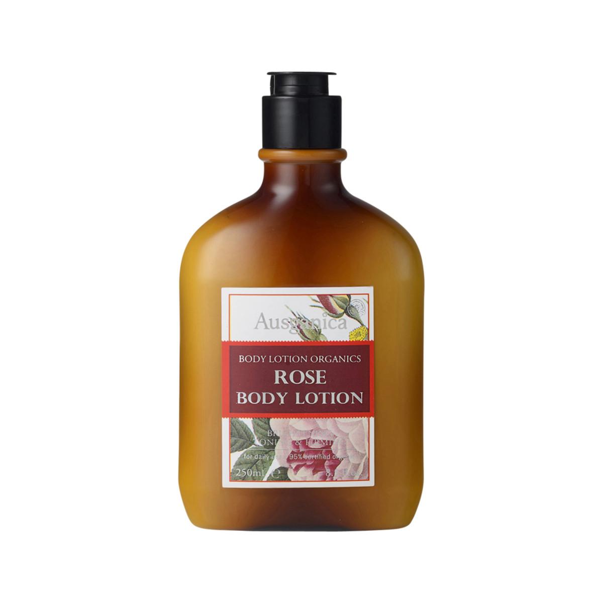 Ausganica Organic Rose Body Lotion