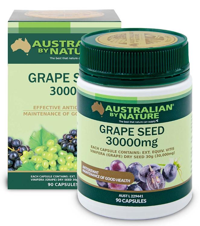 Australian By Nature Grape Seed 30,000mg