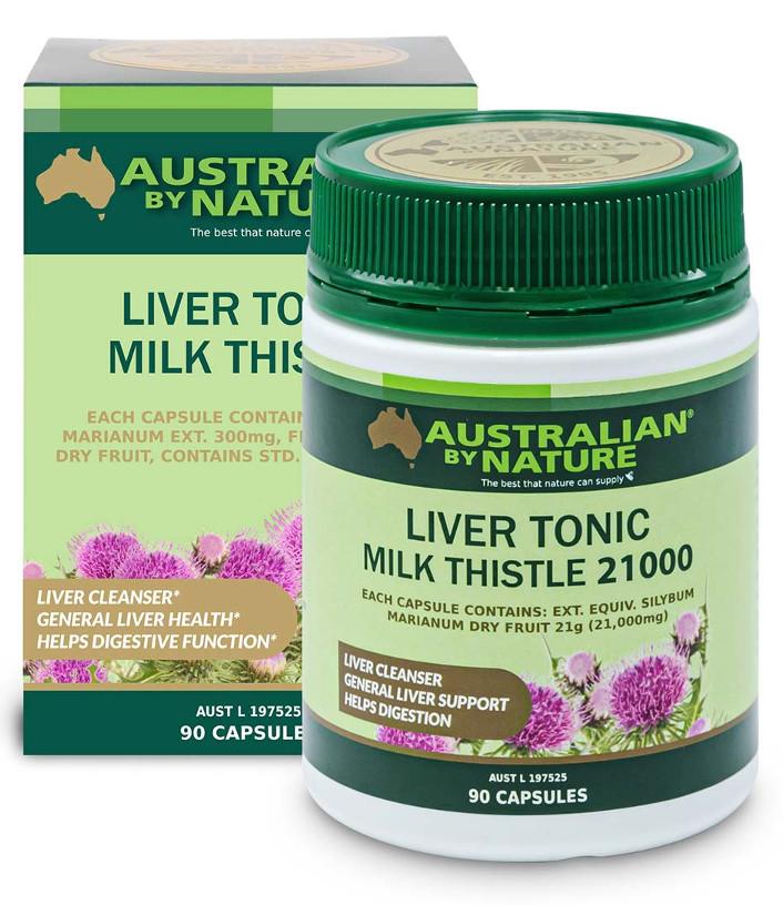 Australian by Nature Liver Tonic Milk Thistle