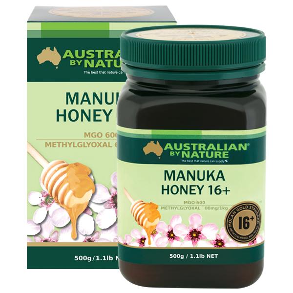 Australian by Nature Manuka Honey 16+ MGO 600