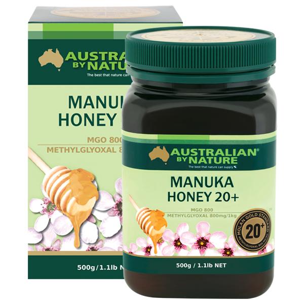 Australian by Nature Manuka Honey 20+ MGO 800