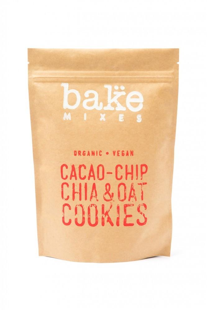 Bake Mixes Cacao-Chip Chia & Oat Cookies Mix - Organic Vegan