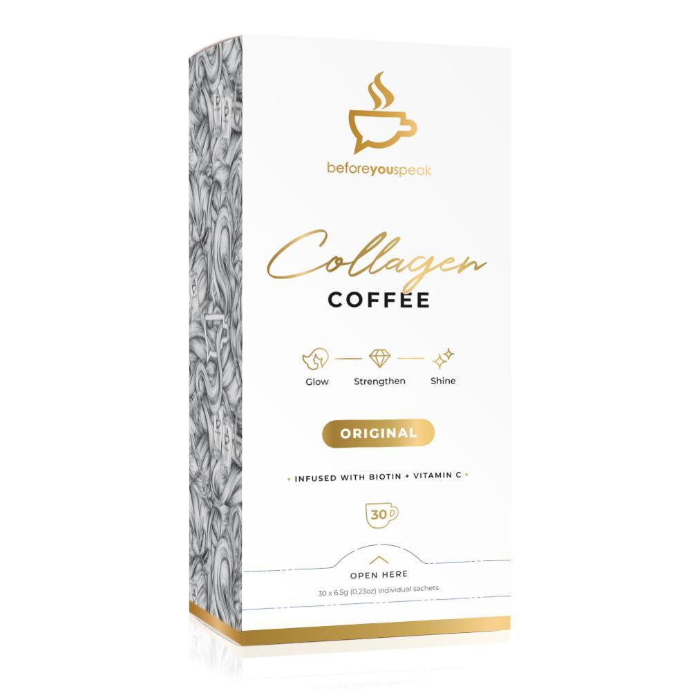 Before You Speak Glow Original - Collagen Coffee