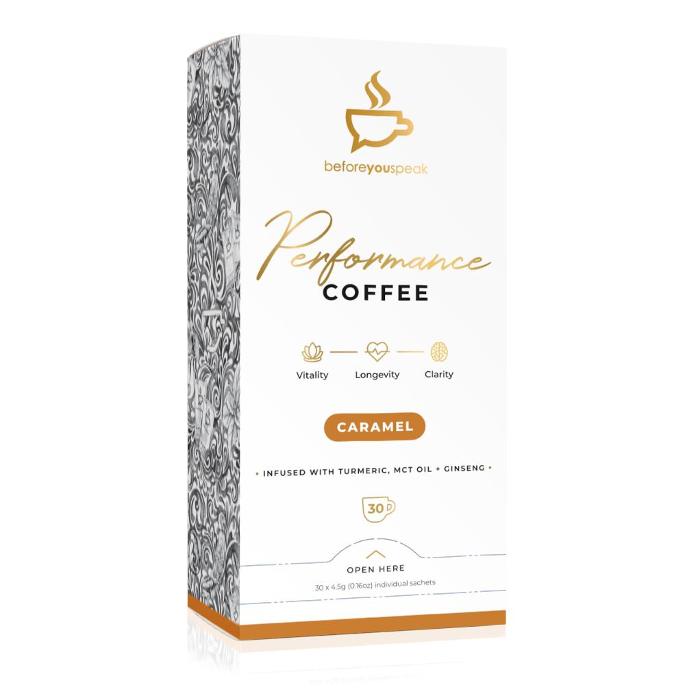 Before You Speak High Performance Coffee | Caramel