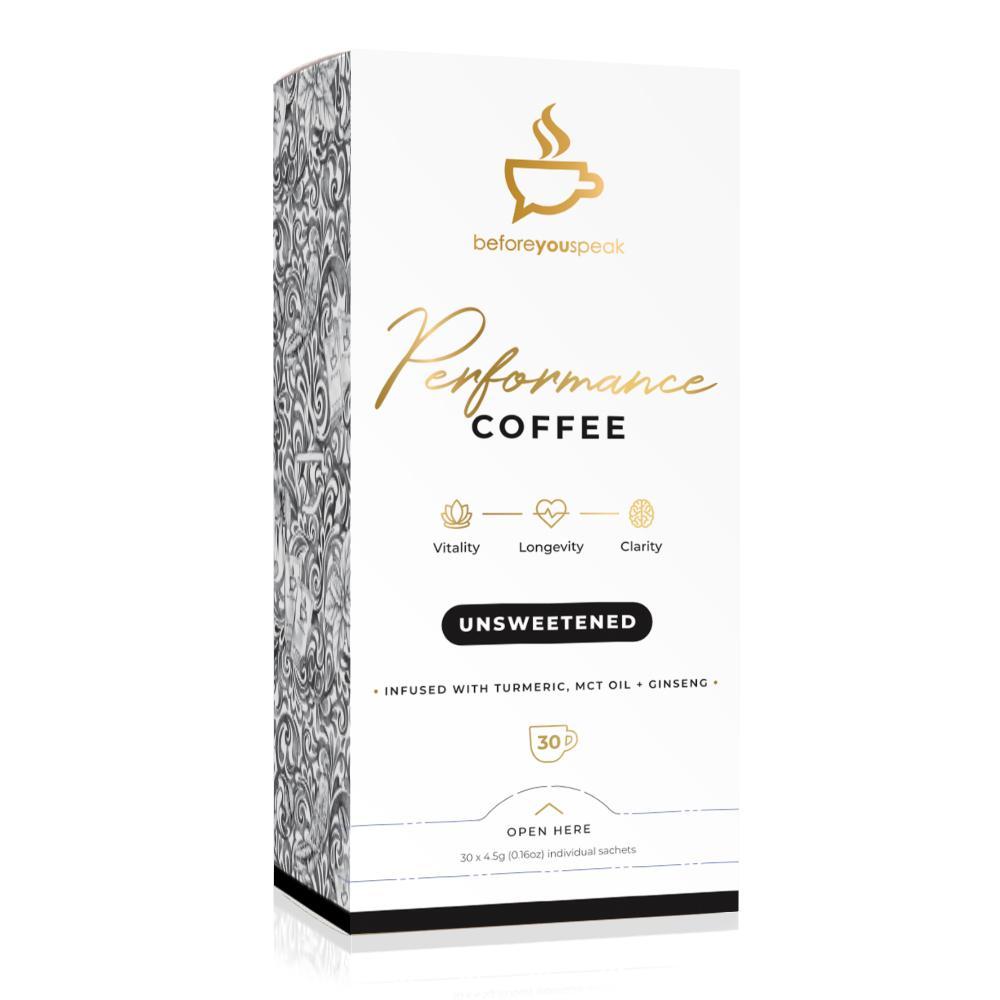 Before You Speak Performance Coffee   Unsweetened