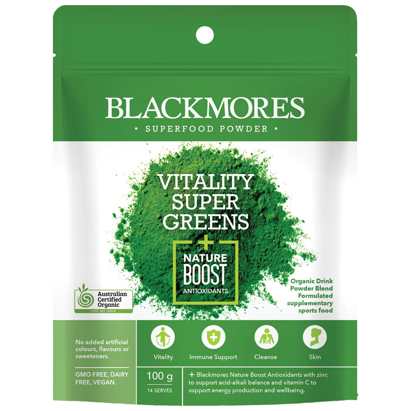 Vitality Super Greens + Nature Boost Antioxidants